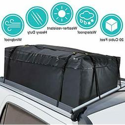 100% Waterproof SoftShell Carriers Car Cargo Roof Bag Top Fo