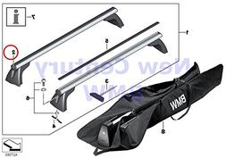 4 X BMW Genuine Roof Rack Covering Cap E8X/E9X 128i 135i M C