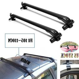 2018 New Universal Car Top Luggage Cross Bars Roof Rack Lock