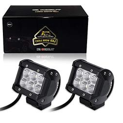 4 Inch Flood Back Up Lights Front Rear Bumper Fog Lights Tra