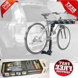 4 Bicycle Bike Hitch Mount Carrier Rack 2-Inch Receiver Car