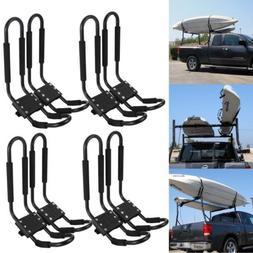 4 Pair Universal Kayak Roof Rack For SUV Car Top Mount Carri