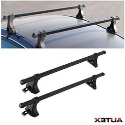 AUTEX 48'' Aluminum Universal Roof Rack Cross Bar Luggage Ca