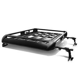 "50"" x 38"" Aluminum Roof Rack Top Cargo Carrier Basket+Cross"