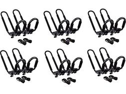 TMS 6 SETS ~ KAYAK ROOF TOP MOUNTED CARRIER RACK)