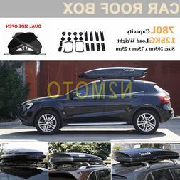 780L 125KG Dual Side Opening Black Universal Car <font><b>Ro