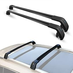 "ALAVENTE 44"" - 46.5"" Universal Roof Rack Cross Bar Set with"
