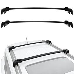 ALAVENTE Roof Rack Cross Bars System For JEEP Compass 2017/