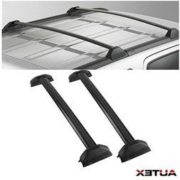 AUTEX 2Pcs Aluminum Cross Bar Roof Rack Compatible with 2002