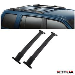AUTEX Aluminum Roof Rack Cross Bar Compatible with 2011 2012