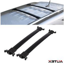 AUTEX Aluminum Roof Rack Crossbars Luggage Carrier Rail Rack