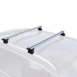 "AUXMART 36.1""- 40"" Universal Roof Rack Cross Bars Luggage Ca"