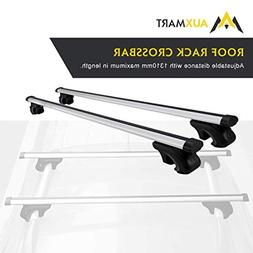 "AUXMART 54"" Universal Roof Rack Cross Bars - Fit Your Car or"