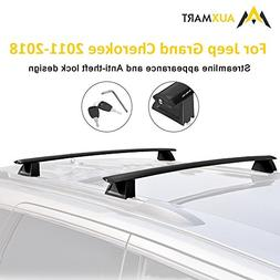 AUXMART Roof Rack Cross Bars for 2011–2019 Jeep Grand Cher