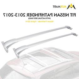 AUXMART Roof Rack Cross Bars for 2013-2017 Nissan Pathfinder