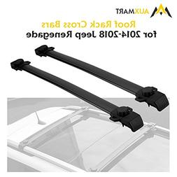 AUXMART Roof Rack Cross Bars for 2015–2019 Jeep Renegade