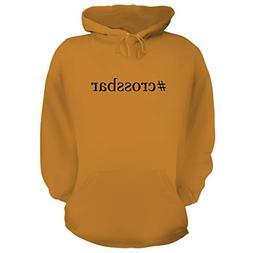 BH Cool Designs #Crossbar - Graphic Hoodie Sweatshirt, Gold,