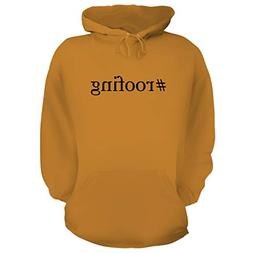 BH Cool Designs #Roofing - Graphic Hoodie Sweatshirt, Gold,