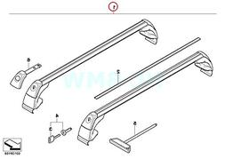 BMW Genuine Roof Rack