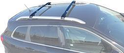 BRIGHTLINES 2014-2019 Jeep Cherokee Aero Crossbars Roof Rack