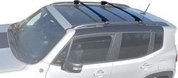 BRIGHTLINES 2015-2018 Jeep Renegade Aero Crossbars Roof Rack