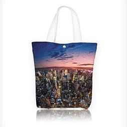 Canvas Shoulder Hand Bag Collection Manhattan At Last Sunlig