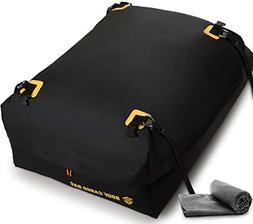 Car Top Carrier Roof Bag 100% Waterproof with Protective Mat