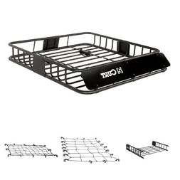 Curt Cargo Rack, Cargo Rack Extension, Cargo Net, and Extend