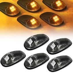 DNA Motoring CBL-DR99-BK-Y LED Cab Roof Top Marker Lights X