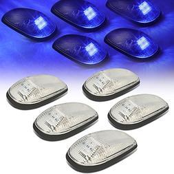 DNA Motoring CBL-DR99-CH-B LED Cab Roof Top Marker Lights X