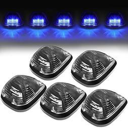 DNA Motoring CBL-FSD99-BK-B LED Cab Roof Top Marker Lights X