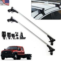 """For Ford F-150 F-350 F-450 47"""" Car Top Luggage Cross Bar Roo"""