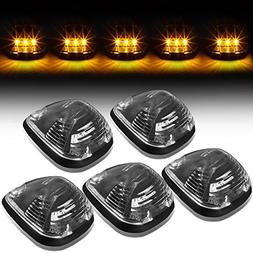 For Ford Superduty 5 X LED Cab Roof Top Lights + Wiring