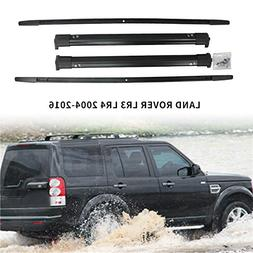HEKA 4PCS Roof Rack Rail + Cross Bar fit for Land Rover LR3