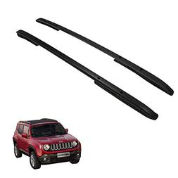 HEKA Black Roof Rack Rail fit for JEEP Renegade 2015-2017 Cr