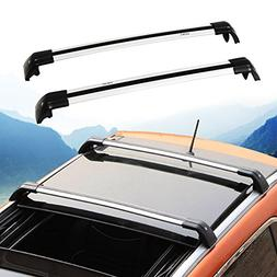 HEKA Lockable Cross Bar for Volvo XC XC60 2013-2017 Roof Rac