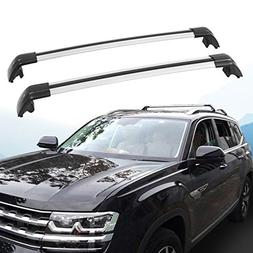 HEKA Lockable Cross bar fit for VW Volkswagen Atlas 2018 Roo