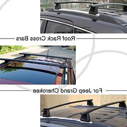 Mophorn Roof Rack Cross Bars Baggage Locking Roof Rail Cross
