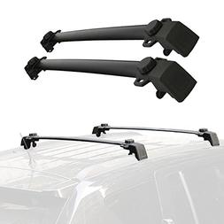 Partol Roof Rack Cross Bars for 2011-2016 Jeep Compass with