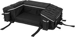 QuadBoss Reflective Series Rear Rack Bag with Integrated Cov