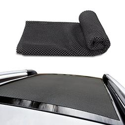 Siivton CAR ROOF Protective MAT, Roof Mat Roof Rack Pad Non-