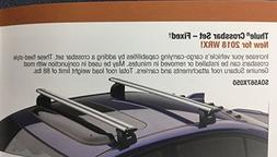 OEM Genuine Fixed Roof Rack Cross Bar Set By Thule SOA567X050
