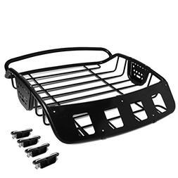 Universal Adjustable Heavy Duty Steel Roof Cargo Basket Car