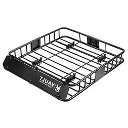 Vault Cargo Management Universal Roof Basket Heavy Duty Carg