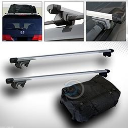 """Velocity Concepts 49"""" SILVER SQUARE ROOF RAIL RACK CROSS BAR"""