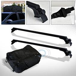 "Velocity Racing 50"" Black Window Frame Roof Rack Cross Bars"