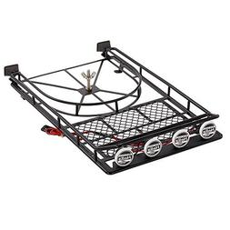 Goolsky Austar AX518BK Metal Roof luggage Rack with Spare Ti