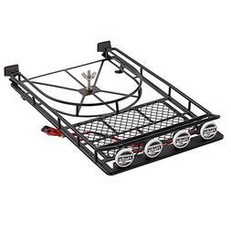 Goolsky Austar AX518BK Metal Roof luggage Rack with Spare Ti