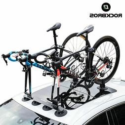 Bicycle Rack Suction Roof-Top Bike CarRacks Carrier Quick In