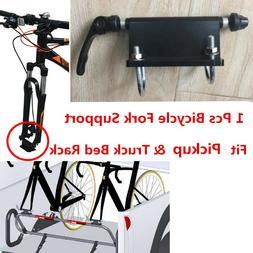 1x Bike Fork Holder Bicycle Support Mount for Pickup Truck B